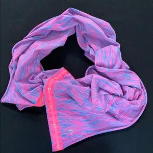 Pink and Blue Heathered Ivivva Scarf